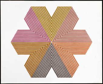 7 color lithograph