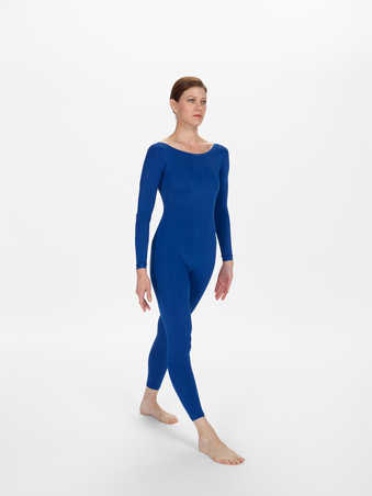 COSTUMES: Long sleeve lycra footless unitards in various shades of blueFIRST PERFORMANCE: Joyce...