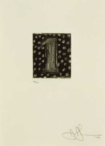 An image of the figure 1 printed in black.  An intaglio print from one copper plate.