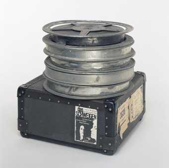 Five reels of film of Ingmar Bergman's The Silence (1962).  Original 35mm theater copies of...