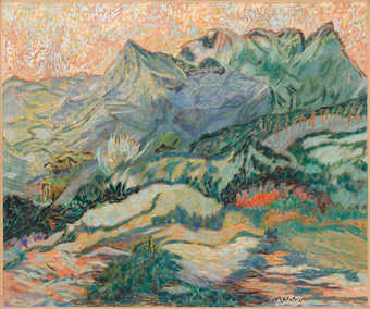Mountain scene